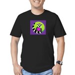 lemur Men's Fitted T-Shirt (dark)