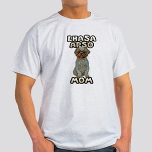 Lhasa Apso Mom Light T-Shirt