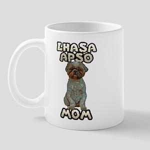 Lhasa Apso Mom Mug