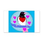 rose-breasted grosbeak 22x14 Wall Peel
