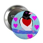 "rose-breasted grosbeak 2.25"" Button"