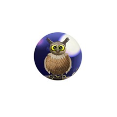 Night owl Mini Button (10 pack)