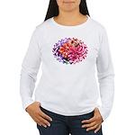 Flower Garden Women's Long Sleeve T-Shirt