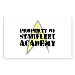 Property of Starfleet Academy Decal