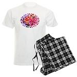 Flower Garden Men's Light Pajamas