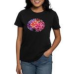 Flower Garden Women's Dark T-Shirt