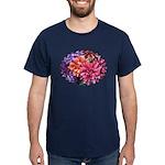 Flower Garden Dark T-Shirt