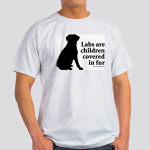 Lab are Fur Children Light T-Shirt