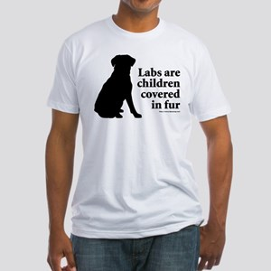 Lab are Fur Children Fitted T-Shirt