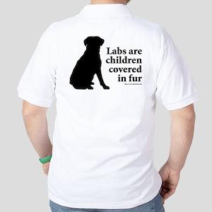 Lab are Fur Children Golf Shirt