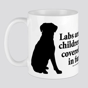 Lab are Fur Children Mug