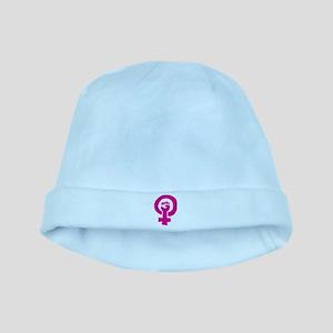 Feminist Pride baby hat