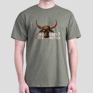 WHO SHOT THE WATER BUFFALO? Dark T-Shirt