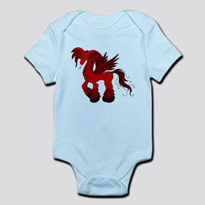 Red Fire Dragon Infant Bodysuit