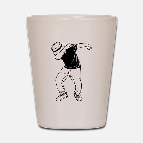 dab dance Shot Glass