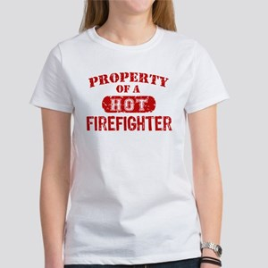 Property of a Hot Firefighter Women's T-Shirt