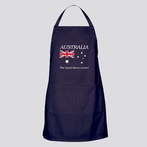 Australian Flag Apron (dark)