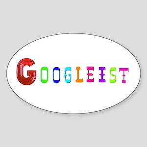 GOOGLEIST Sticker (Oval)