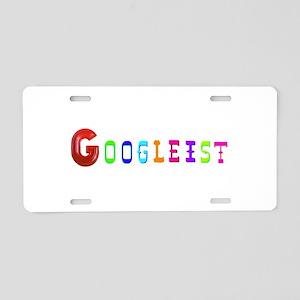GOOGLEIST Aluminum License Plate