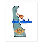 ILY Delaware Small Poster