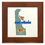 ILY Delaware Framed Tile
