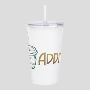 Coffee Addict Acrylic Double-wall Tumbler