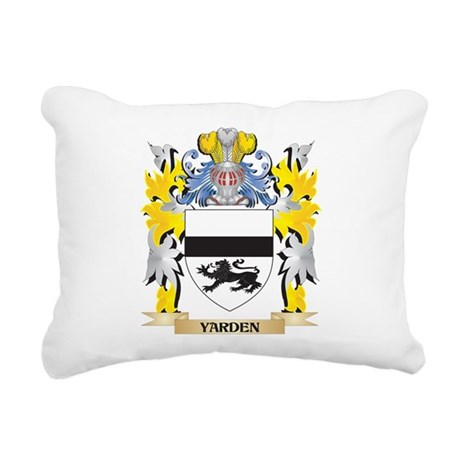Yarden Family Crest - Co Rectangular Canvas Pillow