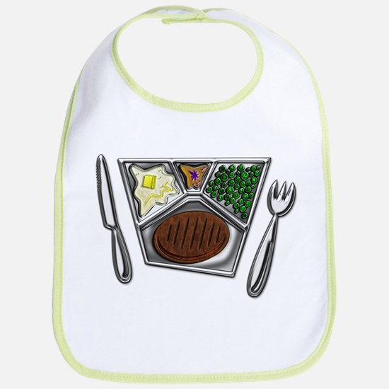 Cooked TV Style Meal Bib
