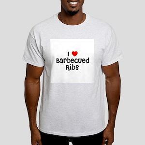 I * Barbecued Ribs Ash Grey T-Shirt