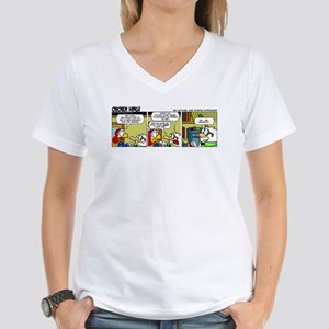 0316 - We need a new magneto Women's V-Neck T-Shir