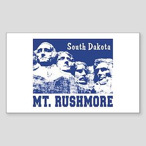 Mt. Rushmore South Dakota Rectangle Sticker