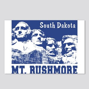 Mt. Rushmore South Dakota Postcards (Package of 8)