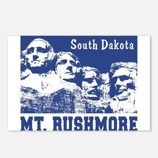 Mt. Rushmore South Dakota Postcards (Package of 8)