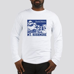 Mt. Rushmore South Dakota Long Sleeve T-Shirt