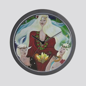 THREE GRACES Wall Clock