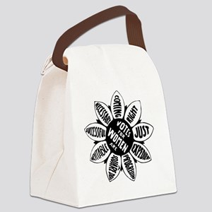 Suffragette Emblem - Votes Canvas Lunch Bag