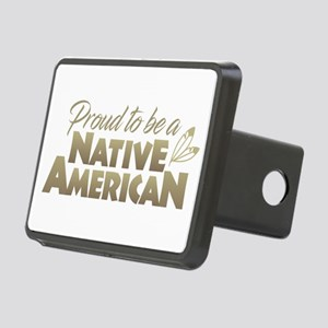 Proud Native American Rectangular Hitch Cover