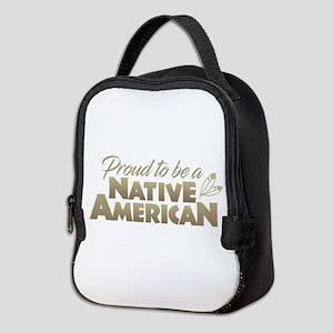 Proud Native American Neoprene Lunch Bag