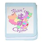 Jian'ou China baby blanket