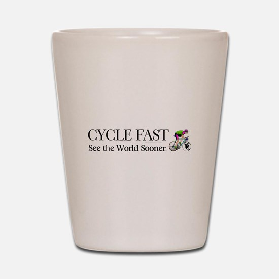 TOP Cycle Fast Shot Glass