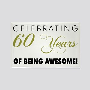 Celebrating 60 Years Rectangle Magnet