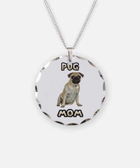 Pug Mom Necklace