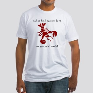 Crawfish Fitted T-Shirt
