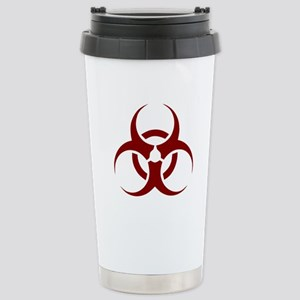 biohazard outbreak desi Stainless Steel Travel Mug