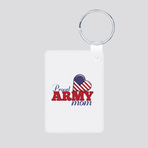 Proud Army Wife - Aluminum Photo Keychain