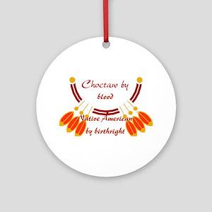 """Choctaw"" Ornament (Round)"
