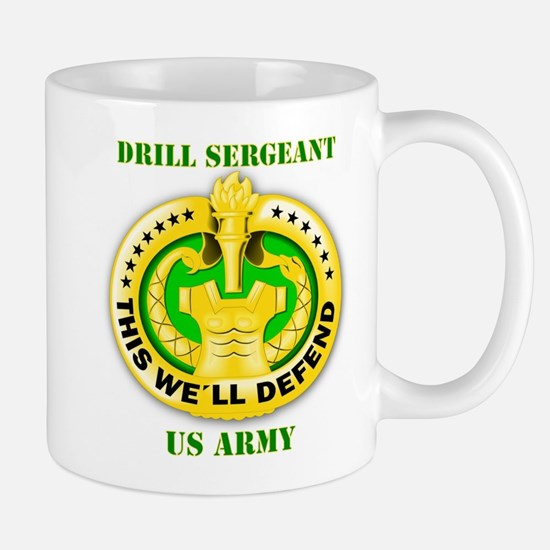 Army - Emblem - Drill Sergeant Mug