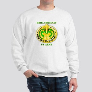 Army - Emblem - Drill Sergeant Sweatshirt