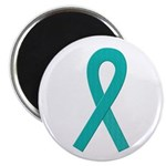 Teal Ribbon Magnet
