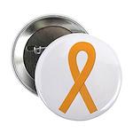 Orange Ribbon Button